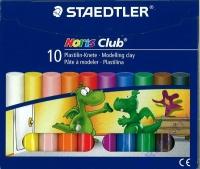 Noris Club Plastilin-Knete 10 Stangen