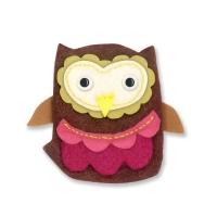 Sizzix Bigz Die - Owl #4
