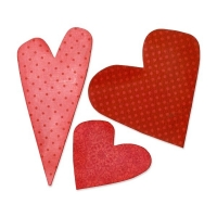 Sizzix Bigz Die - Hearts #4