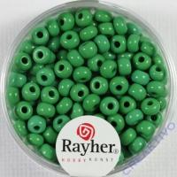 Indianerperlen, 4,5 mm ø grün