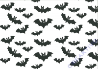 Motiv-Fotokarton 300g/qm 49,5x68cm Halloween - Fledermaus