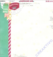 Scrapbooking Papier Candy Cane Lane (Restbestand)