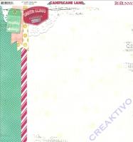 Scrapbooking Papier Candy Cane Lane (Restbestand)