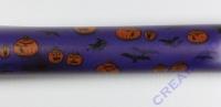 Transparentpapier Rolle 50x60cm Halloween lila (Restbestand)