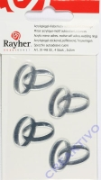 Rayher Acrylspiegel-Klebemotiv selbstklebend Ringe 4 Stück
