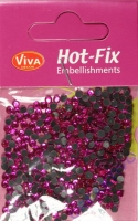 Hot-Fix-Strasssteine 4mm pink