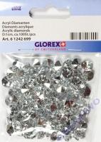 Acryl-Streuteile Diamant krsitall 1cm ca. 100 Stück