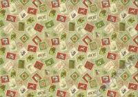 Motiv-Fotokarton 300g/qm 49,5x68cm Vintage Weihnachten Motiv 02