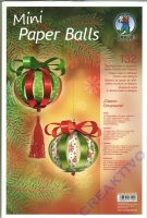 Mini Paper Balls CLassic Ornaments