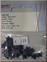 Knorr Prandell Nieten Sternchen 25 St blau
