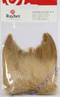 Engelflügel aus Federn, 5cm braun 2 Stück
