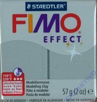 Fimo Effekt Modelliermasse 57g metallic brill.silber