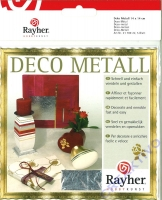 Rayher Deco Metall silber
