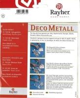 Rayher Deco Metall silber