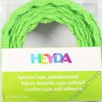 Spitzen Tape selbstklebend hellgrün