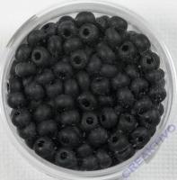 Pracht Rocailles matt 4,5mm 17g schwarz