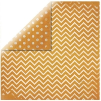 Scrapbookingpapier Chevron orange