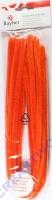 Chenilledraht 50cm 9mm 10 Stück orange