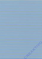 Streifen-Fotokarton DIN A4 blau