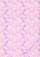 TRansparentpapier Baby rosa Motiv 02
