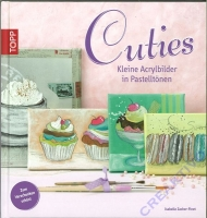 Cuties - Kleine Acrylbilder in Pastelltönen