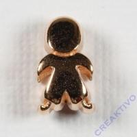 Metall-Perle Männchen roségold