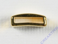 Metall-Zierelement eckig 1,2cm gold