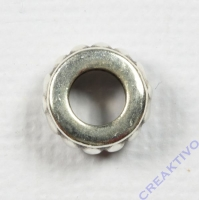 Metall-Radl 9mm silber