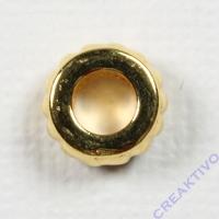 Metall-Radl 9mm gold