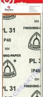 Schleifpapier-Set sortiert Körnung 40 und 60