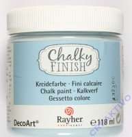 Chalky Finish 118ml - blaugrau