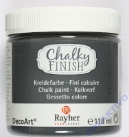 Chalky Finish 118ml - anthrazit