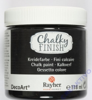 Chalky Finish 118ml - ebenholz
