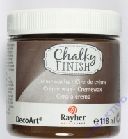 Chalky Finish - Cremewachs 118ml dunkelbraun