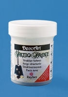 Rayher Patio Paint Strukturschnee 59ml