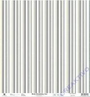 Scrapbooking-Papier Mr. & Mrs. - Streifen 190g/m² (Restbestand)