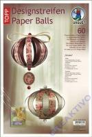 Designstreifen Paper Balls - Vivien (Restbestand)