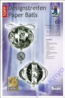 Designstreifen Paper Balls - Audrey