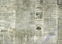 Motiv-Fotokarton 300g/qm 49,5x68cm Vintage Motiv 01 - Tageszeitung