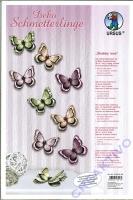 Deko Schmetterlinge Shabby Rose