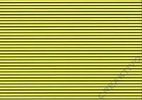 Vario-Karton 300g/qm 50x70cm gelb/schwarz Streifen
