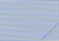 Vario-Karton 300g/qm 50x70cm blau/weiß Streifen