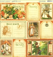 Scrapbooking Papier Fancyful Fable (Restbestand)