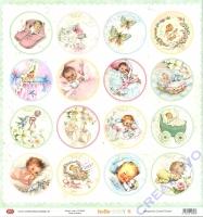 Scrapbooking-Papier Hello Baby 8