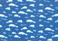 Motiv-Fotokarton 300g/qm 49,5x68cm Wolken