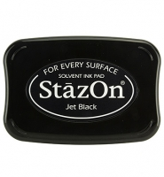 StazOn Stempelkissen Jet Black