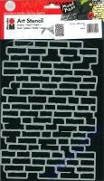 Marabu Art Stencil Schablone - Bricks