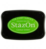 StazOn Stempelkissen cactus green