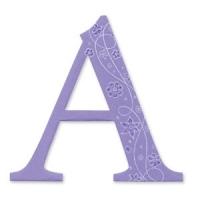 Sizzix Bigz Alphabet Uppercase Die - Sassy Serif A-Z und 0-9