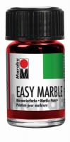Easy marble Marmorierfarbe 15ml rubinrot